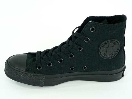 CONVERSE - CANVAS ALL STAR HI BLACK MONOCHROME