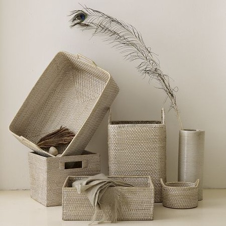 west elm - Whitewash Modern Weave Collection