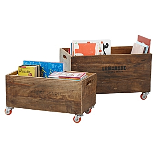 Serena & Lily - Rolling Storage Crates