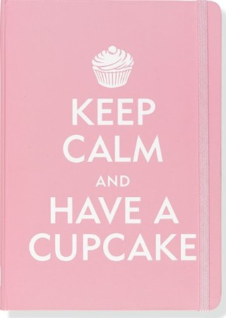 Peter Pauper Press - Keep Calm and Have a Cupcake Journal