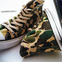 CONVERSE ADDICT - Chuck Taylor Material Hi 83 Camouflage