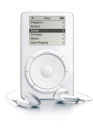 Apple - iPod™ 5GB (1st generation)