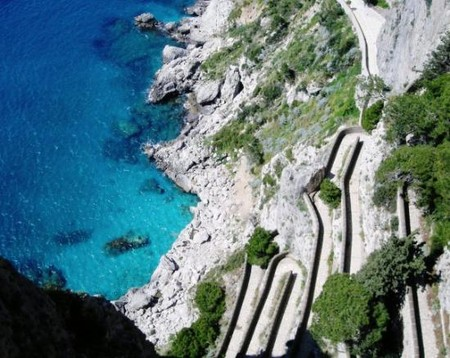 Italy - Krupp Walk at Capri