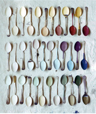 pretty paint spoons - pretty paint spoons