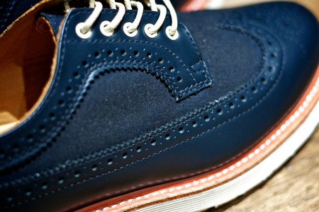 Dr.Martens - ALFRED BROGUE SHOE NAVY