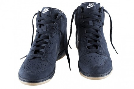 A.P.C.× NIKE - APC x Nike Dunk High Navy White brown