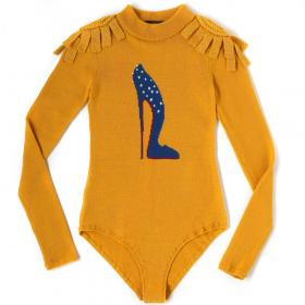 bella freud - Yellow Leotard