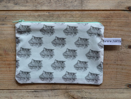 harrietgray - cat pouch