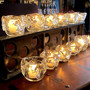 Strawser & Smith - Hand Blown Glass Candle Holders