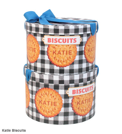 Katie - HAT BOX  round