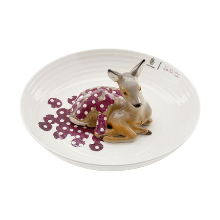 Nymphenburg - animal bowl with fawn