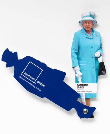 pantone and leo burnett london - pantone queen diamond jubilee colour guide