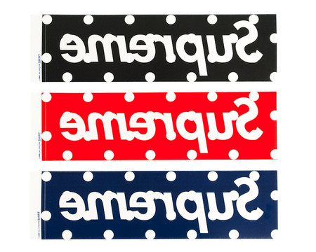 COMME des GARCONS SHIRT × Supreme - BOX LOGO STICKER