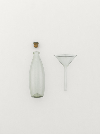 Peter Ivy - Glass Bottle & Glass Flask