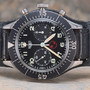 HEUER - 3H Military Chronograph