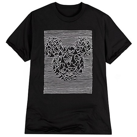 Disney - Waves Mickey Mouse Tee for Adults