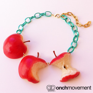 onch movement - The Apple Necklace