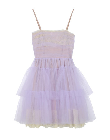 RED VALENTINO - Layered tulle dress