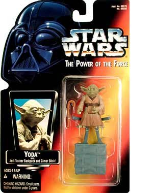 kenner - STAR WARS: Power of the Force Red Card > Yoda Action Figure