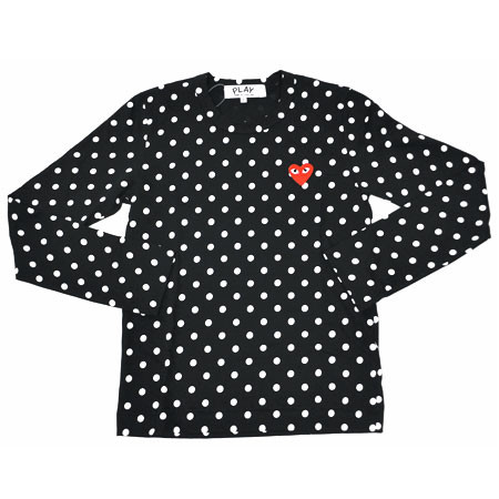 PLAY COMME des GARCONS - ドット ロンスリーブTee