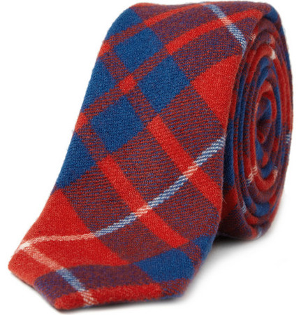 Alexander Olch - The Walter Plaid Wool Tie
