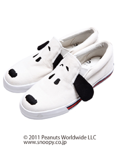 Candy Stripper - SNOOPY SLIP-ON SHOES