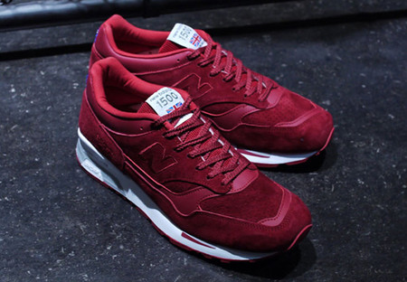 M1500 (Made in England) - Red Suede