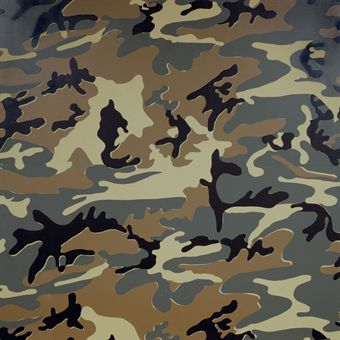 Andy Warhol - Camouflage , 1986
