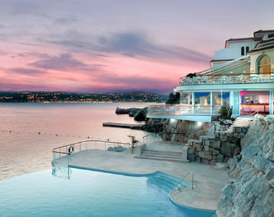 Hotel du Cap - Eden Roch - Infiniti Pool, Antibes, Spring week-end with Arrow