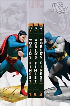 DC Direct - Superman & Batman Bookends
