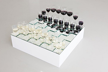 Anders Nordby - Wine Glass Chess Set
