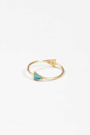 Mociun - Double Triangle Ring