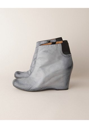 MM6 by Maison Martin Margiela - BRUSHED-EFFECT BOOT