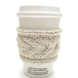Jacqueline Dufresne - Knitted Coffee Sleeves