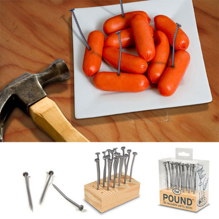 POUND - The Nail Shaped Party Toothpick