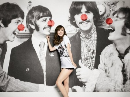 STELLA McCARTNEY - red nose day tee the Beatles