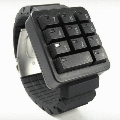 CLICK - keypad watch