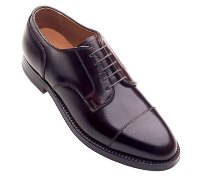 ALDEN - Cordovan Straight Tip Blucher Oxford