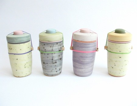 LARGE SPECKLED JAR SERIES CS:VN:QU