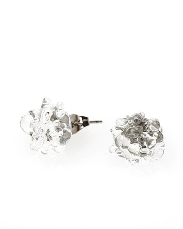 Urban Revisions - Glass Cluster Dot Earring