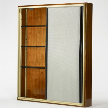 CHARLOTTE PERRIAND AND JEAN PROUVÉ - wall-mounted cabinet from l'Unité d'Habitation Air France, Brazzaville