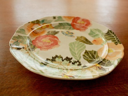 ANTHROPOLOGIE - Watercolor Petals Dinnerware