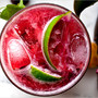 Cherry Caipirissima/summer drink