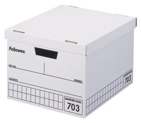 Fellowes - Bankars Box 703