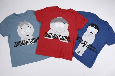 """Marc Jacobs - Charity Nude T-shirts """"South Park"""""""
