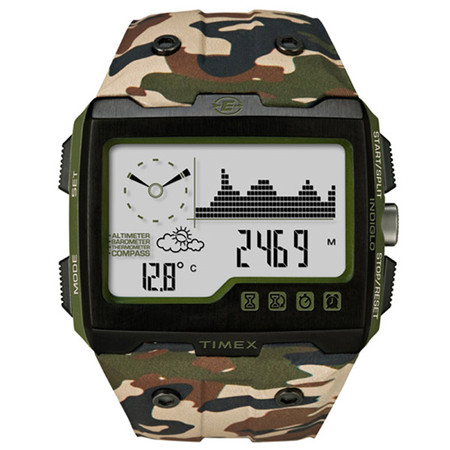TIMEX - EXPEDITION WS4 Green Camo