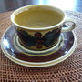 Arabia - osta cup and saucer