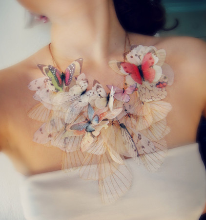 jewelera - Fluttery Butterfly Necklace