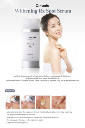 Ciracle - Whitening Rx Spot Serum