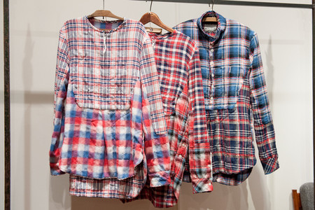 TAKAHIROMIYASHITA THE SOLOIST - check shirts